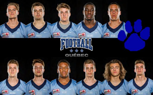 Cougars at Team Québec